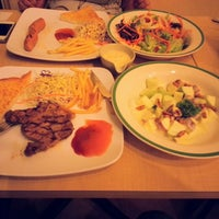 Photo taken at Jeffer Steak by AkeChill N. on 10/28/2014