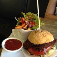 Photo taken at Jus Burgers by Nani L. on 3/29/2013