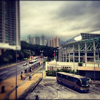 Photo taken at Tung Chung Station Bus Terminus by ijp72 on 11/24/2012