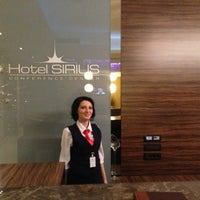 Photo taken at Sirius Hotel by Hakan Ö. on 4/28/2013