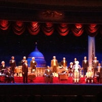 Photo taken at The Hall Of Presidents by Ian J on 5/6/2013