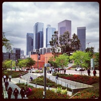 Photo taken at Grand Park by Christopher D. on 6/4/2013