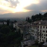 Photo taken at Castello Pretorio by Munenori F. on 6/19/2013