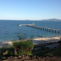 Photo taken at Sea Garden by Maya V. on 4/26/2013