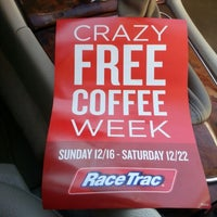 Photo taken at RaceTrac by DtownMk on 12/10/2012