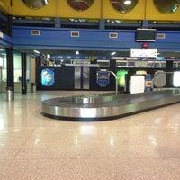 Photo taken at Aeroporto Internazionale di Lamezia Terme (SUF) by Eby W. on 2/4/2013