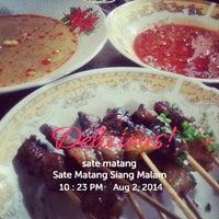 Photo taken at Sate Matang Siang Malam by Nda V. on 8/2/2014