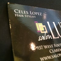 Photo taken at Salon Luxe by kelsey o. on 6/6/2014