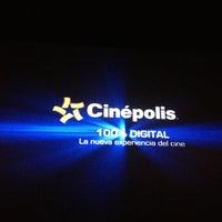 Photo taken at Cinépolis by YO AMO PLAYA on 2/21/2013