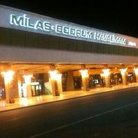 5/21/2013 tarihinde Tunay T.ziyaretçi tarafından Milas Bodrum Havalimanı (BJV)'de çekilen fotoğraf