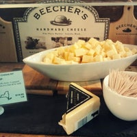 Photo taken at Beecher's Handmade Cheese by Denis A. on 3/31/2013