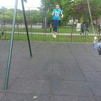 Photo taken at Juniper Valley Park Playground by Barbara S. on 5/23/2014