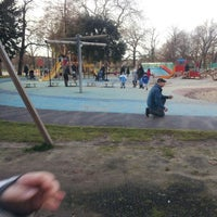Photo taken at Clissold Park Playground by Hanna I. on 12/21/2012