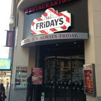 Photo taken at Fridays by Pavel B. on 1/22/2013