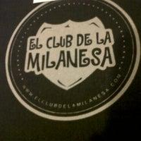 Photo taken at El Club de la Milanesa by Lulita B. on 10/27/2012