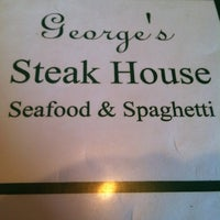 Photo taken at George's Steakhouse by Beth T. on 5/23/2013
