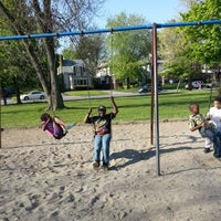 Photo taken at Delaware Park Playground by Jermel E. on 5/24/2014