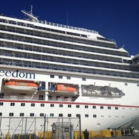 Photo taken at Carnival Freedom by Monica N. on 12/1/2012