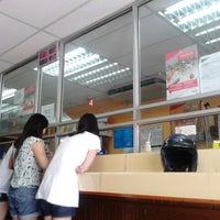 Photo taken at Pos Malaysia by Faizal J. on 6/5/2013