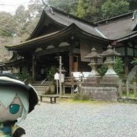 Photo taken at 岩間寺 (岩間山 正法寺) by K T. on 4/3/2016