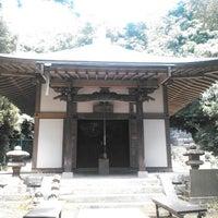 Photo taken at 稱名寺(今泉不動) by K T. on 8/2/2014
