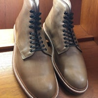 Photo taken at Alden New England Shoes by Takashi on 9/21/2017