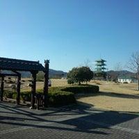 Photo taken at 吉備SA (下り) by Hideo H. on 1/11/2013