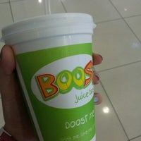 Photo taken at Boost Juice Bar by Jolynn C. on 5/15/2013