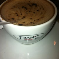 Photo taken at Fran's Café by Elcio B. on 4/8/2013