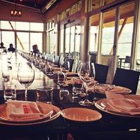 Photo taken at Miradoro Restaurant at Tinhorn Creek Vineyard by Rebecca B. on 4/18/2013