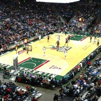 Photo taken at BMO Harris Bradley Center by Joel K. on 3/24/2013