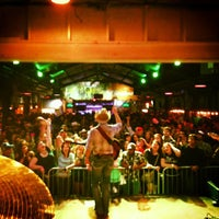Photo taken at Brewster Street Icehouse by Aaron W. on 1/11/2013