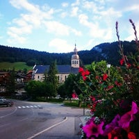 Photo taken at Le Grand-Bornand by Raybaud N. on 6/26/2016