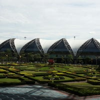 Photo taken at Suvarnabhumi Airport (BKK) by Chulin [. on 11/15/2013