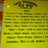 "Photo taken at Tasca Hispanidad ""ca pio"" by Javier S. on 12/14/2012"