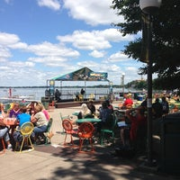 Photo taken at Memorial Union Terrace by Brooke P. on 7/24/2013