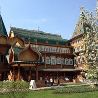 Photo taken at Wooden Palace of Tzar Alexis of Russia by Сергей Р. on 5/11/2013