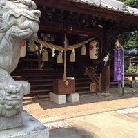Photo taken at 熊野大神社 by umepapa8080 on 6/17/2014