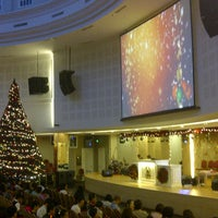 Photo taken at Gereja Tiberias Indonesia - Gading Nias by rian a. on 12/24/2012