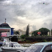 Photo taken at Universitas Pendidikan Indonesia (UPI) by Kaizar Faries T. on 3/15/2013