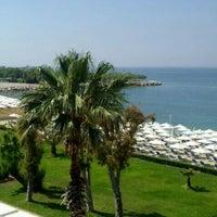 Photo taken at Ακτή του Ήλιου by Πεγκυ.. !. on 5/11/2013