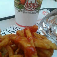 Photo taken at Arby's by Funda on 2/14/2013