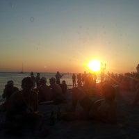 Photo taken at SunSet (kaZantip) by Владимир М. on 8/10/2013