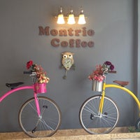 Photo taken at montrio coffee by Rachanee C. on 5/1/2014