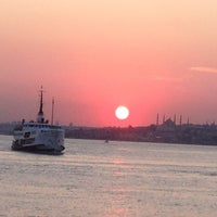 Photo taken at Sea of Marmara by Mustafa K. on 3/2/2013