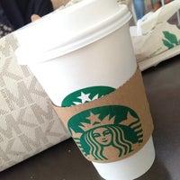 Photo taken at Starbucks by Ghadeer_HQ4 on 1/1/2013