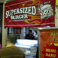Photo taken at Yazid Burger by Ah Nuaq on 12/30/2012