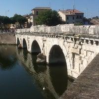 Photo prise au Ponte di Tiberio par Ievgenii S. le7/6/2013