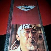 Photo taken at Mr. Miyagi Sushi Bar by Luiz S. on 1/2/2013