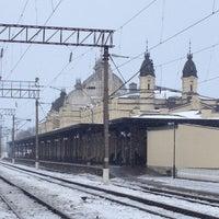 Photo taken at Залізнична станція «Жмеринка» by Sergey K. on 1/5/2013